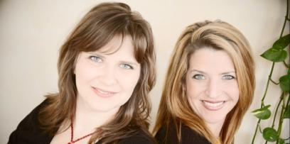 Heidi Andermack and Amy Lynn Brown of Chowgirls