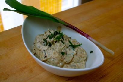 ramp onion dip