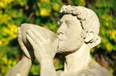 roman god wine