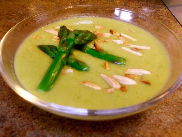 Make it Local: Cream of asparagus soup | Simple, Good and Tasty