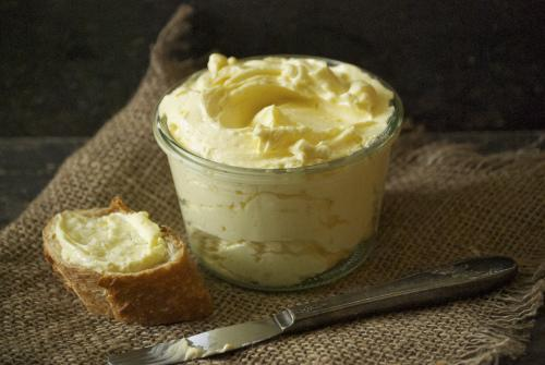 Mmm…homemade butter