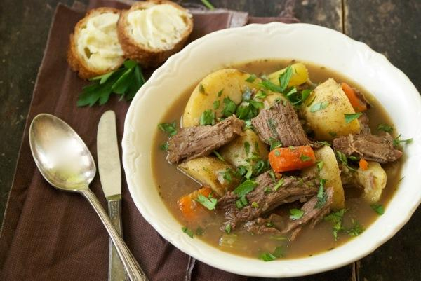 My grandmother's beef soup, recreated