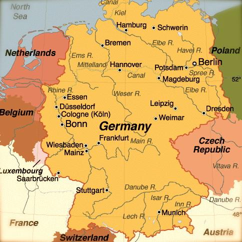 Vino A Reconsideration Of Deutschland Wine Simple Good And - Germany map simple