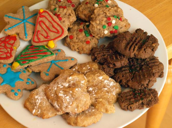 Whole Grain Holiday Cookies