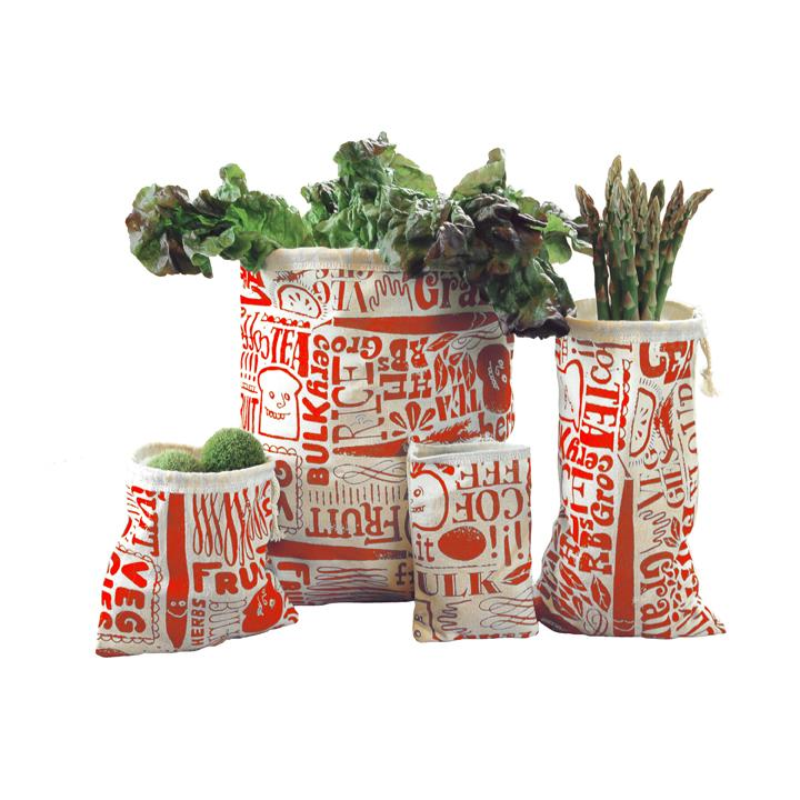 Valentine Produce Bags from Olive+Myrtle