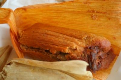 Oooohhh, those tamales...