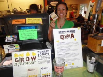 You can support the Grow a Farmer program by purchasing packets at places like the Birchwood Cafe