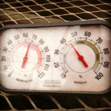 Temperature and humidity are vital for proper greenhouse operations