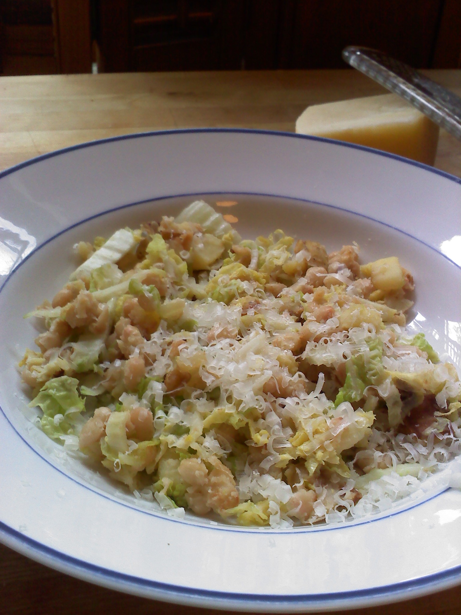 white beans french pork stew with white beans white beans and cabbage ...