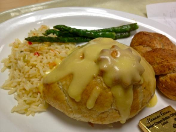 My favorite meal, chicken oscar