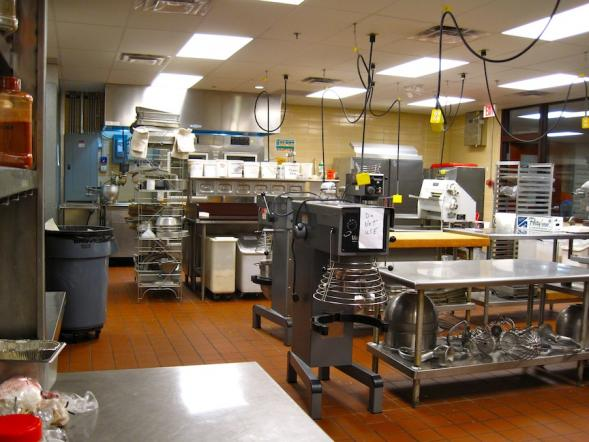 The Culinary School Kitchen