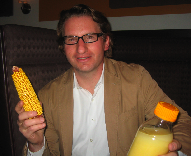 Dean Phillips and his corn