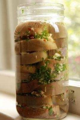Preserving that extra eggplant   Simple, Good and Tasty