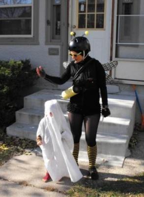 Halloween honey delivery