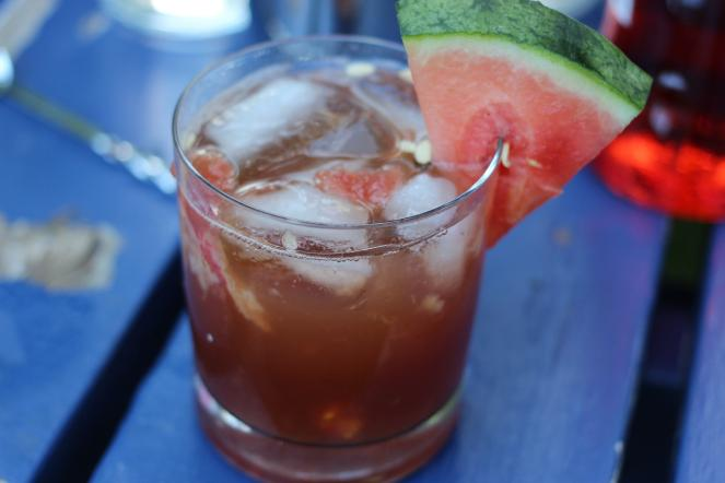 Rum Watermelon Cooler