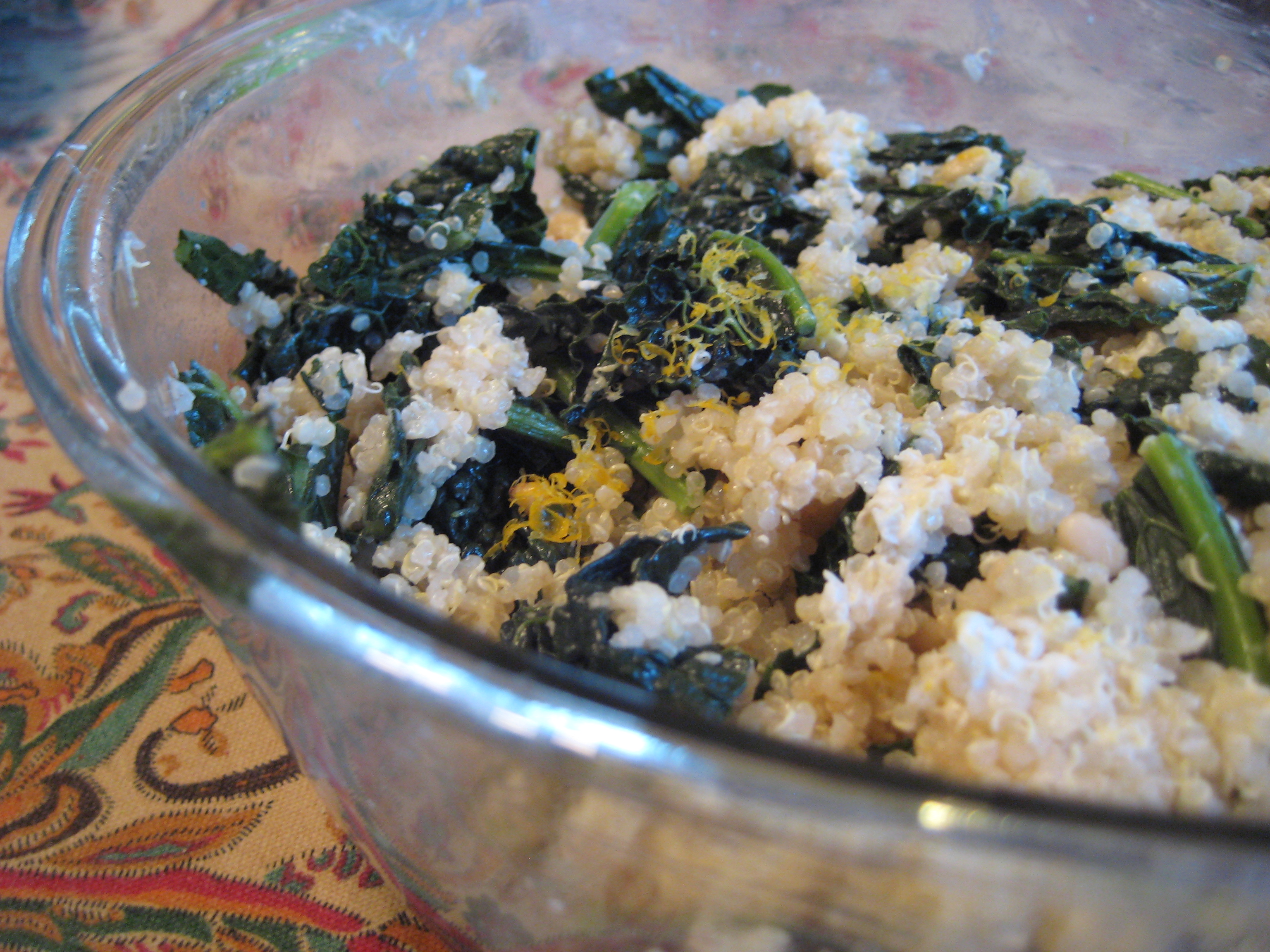 pilaf one pot kale and quinoa pilaf one pot kale and quinoa pilaf one ...