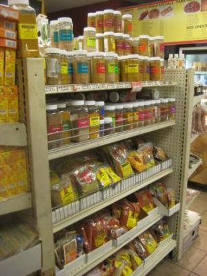 the spice aisle
