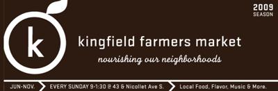 kingfield market logo