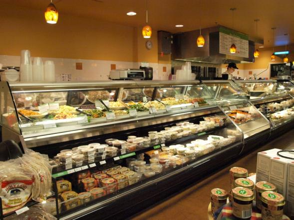 The deli at the Linden Hills Co-op