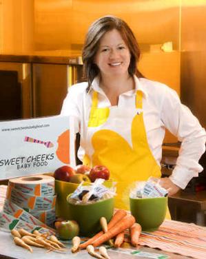 Lori Karis from Sweet Cheeks Baby food