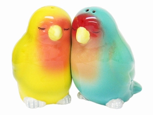 Lovebird salt and pepper shakers from Patina Stores
