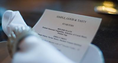 red stag menu