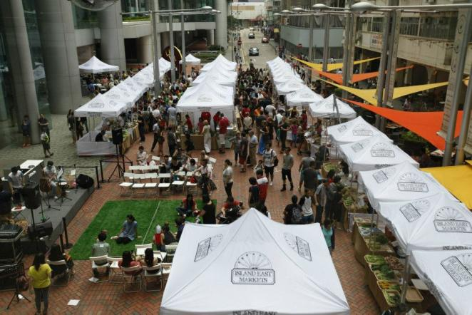 Opening Day of Island East Market
