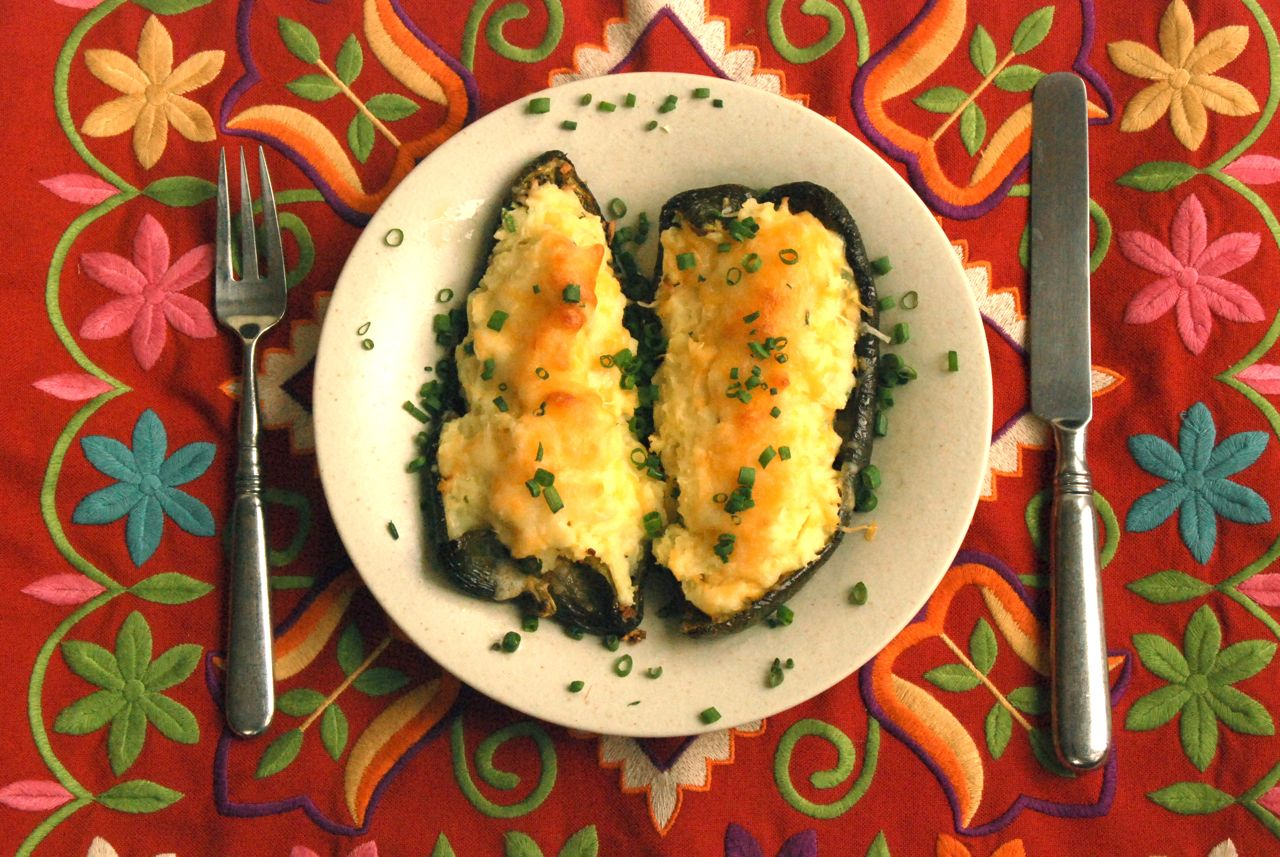 Celebrate Cinco de Mayo with Rhubarbaritas and Stuffed Poblano Peppers ...