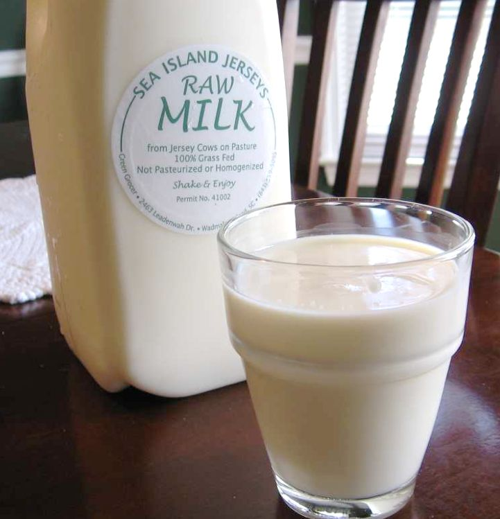 Raw milk: One of Marler's most frequent targets.