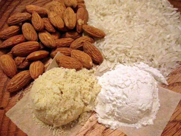 Almond Meal and Rice Flour