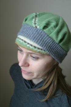 Sassy Knitwear cappy cap