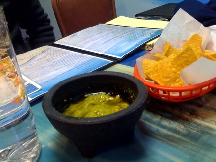 "The Green Chile ""salsa"""