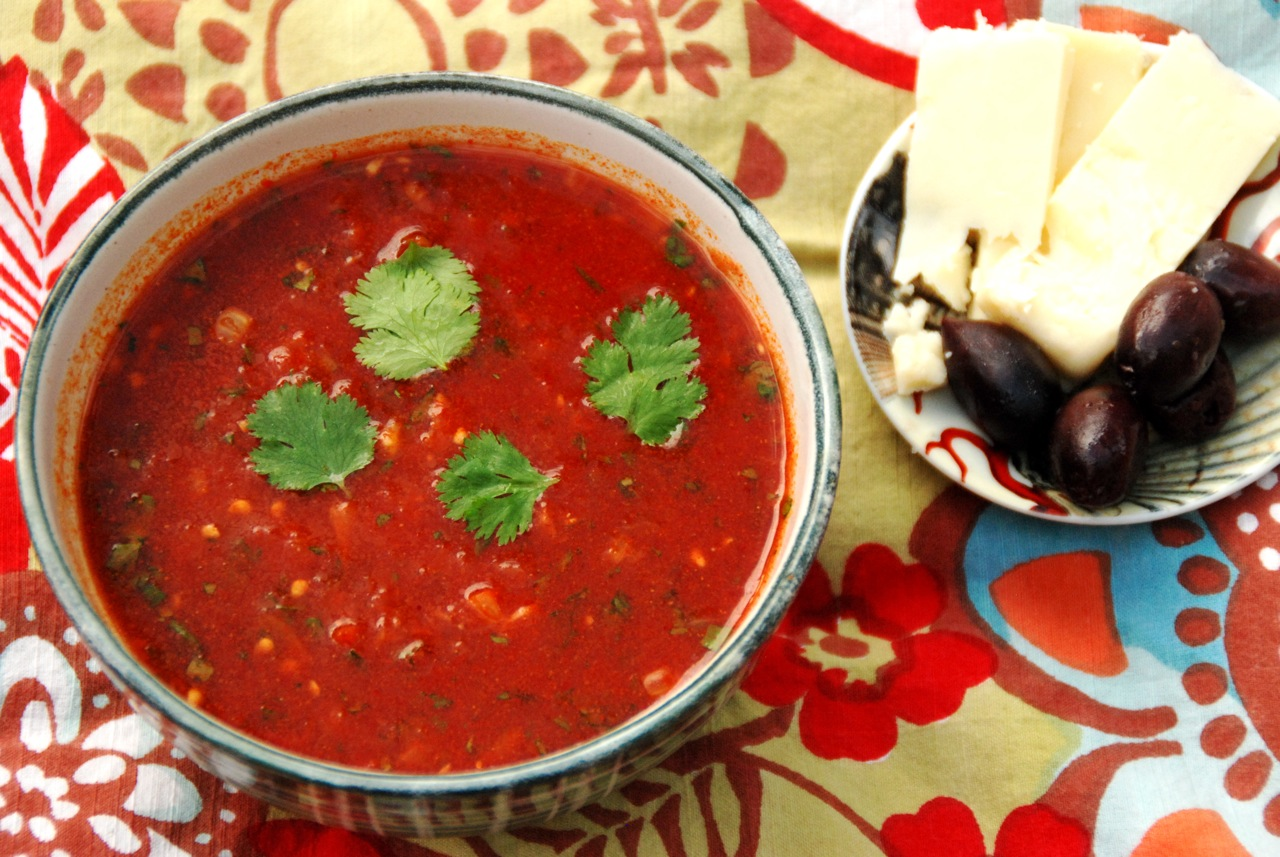 Beat the Heat with a Spicy Moroccan Tomato Soup | Simple, Good and ...