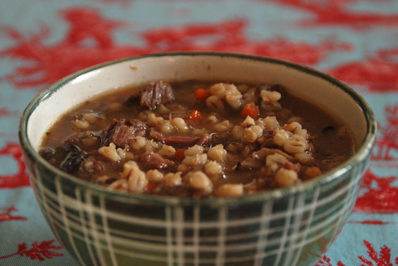 ... and barley crepes ratatouille barley salad short rib and barley stew