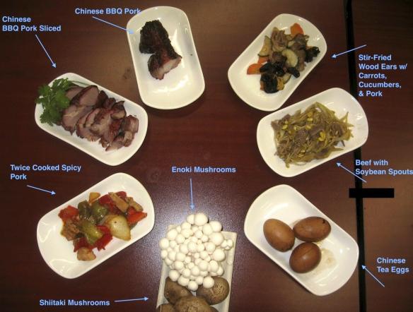Options on the UniDeli menu